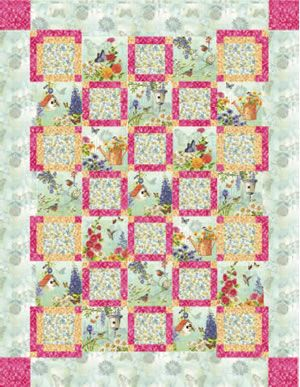 Pin by the quilter magazine on free quilt patterns pinterest for Garden trellis designs quilt patterns