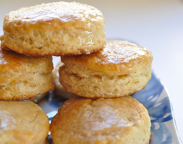Honey Butter Biscuits | baker's bliss | Pinterest