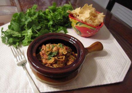 Slow Cooker Tex-Mex Chicken & Pinto Bean Stew