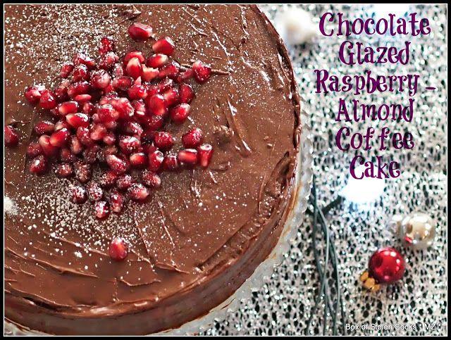 ... Socks: Gluten Free Chocolate Glazed Almond Cake with Raspberry Jam