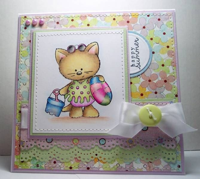 Happy summer stampin up card making ideas pinterest