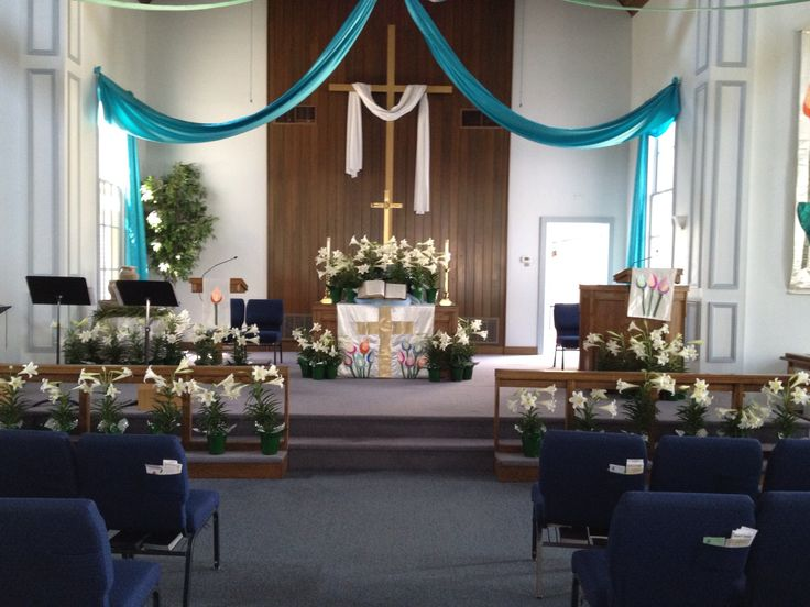 Church alter designs for easterhurch joy studio design for Altar decoration