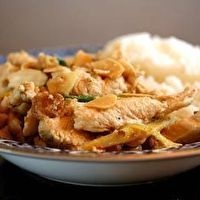 Ginger Chicken with Almonds | Good Food | Pinterest