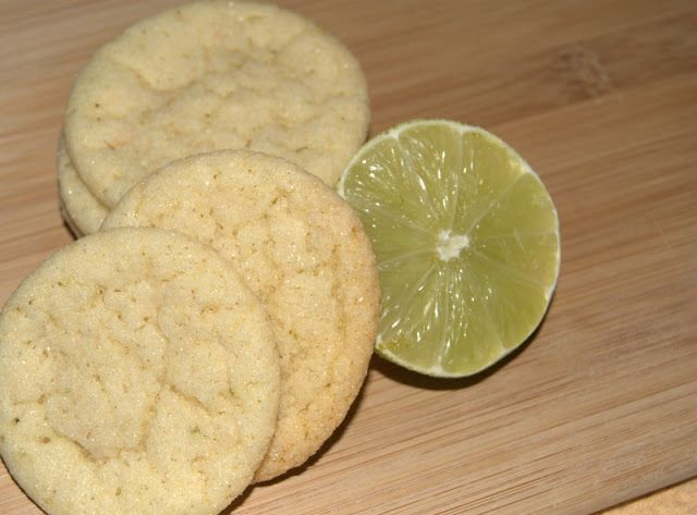 Chewy Lime Coconut Sugar Cookies - 365 Days of Baking