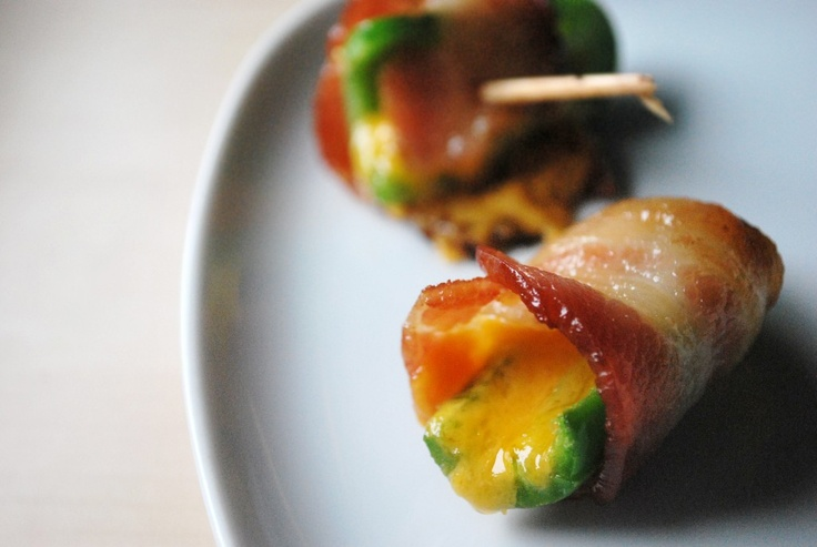 Bacon Wrapped Cheddar Jalapeno Bites | Bacon | Pinterest