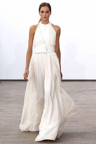Mariage: les robes de mariée de la Fashion Week Oscar de la Renta