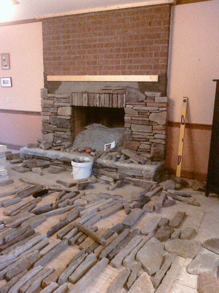 Manufactured Stone Veneer That I Installed In Dry Stack
