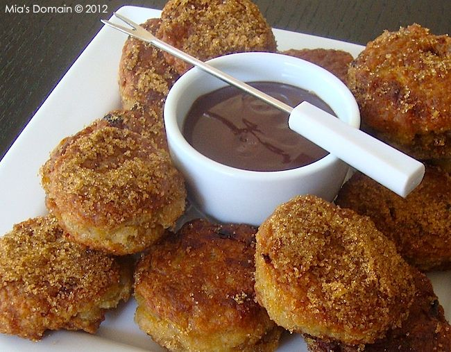 Mia's Domain | Real Food: Banana Coconut Fritters (Gluten-Free)
