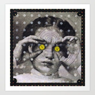 Orbital Forecasting Art Print by Audrey Smith - $18.72
