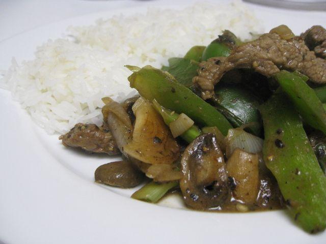 Black pepper steak w/ green peppers | food-asian, chinese, etc | Pint ...