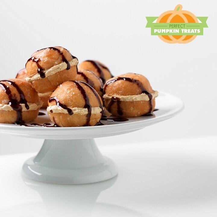 pumpkin spice mini cake balls . | Taste Treats | Pinterest