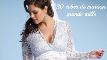 ... by Ma-Grande-Taille.com Magazine on Robes de mariée grande taille
