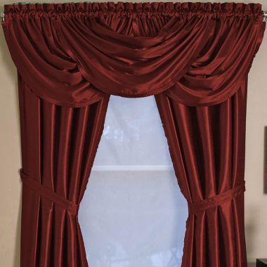 Versailles Rod Pocket Waterfall Valance Decor And Ideas Pinterest
