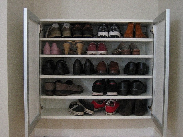Cool shoe storage idea  Dreams for the new house  Pinterest