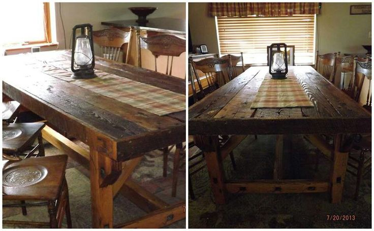 Barn Door Table on Pinterest