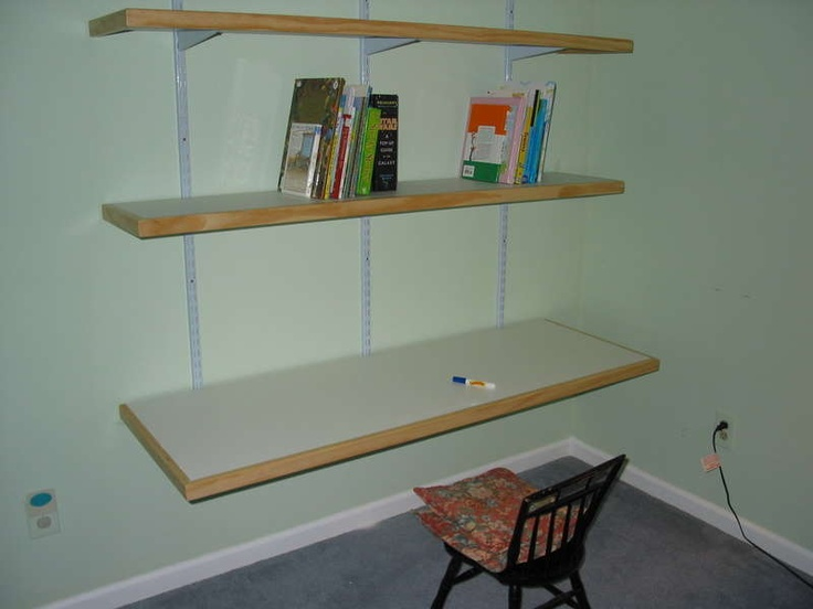 do it yourself desk book shelves basement ideas pinterest