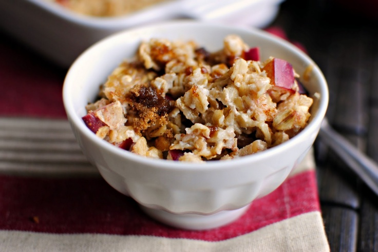 Simply Scratch » Baked Apple Cinnamon Oatmeal - This recipe is ...