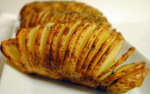 Grilled Hasselback Sweet Potatoes With Rosemary And Garlic Recipes