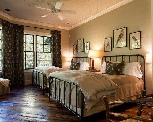 Rustic guest bedroom diy home decor ideas pinterest for Media room guest bedroom