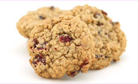 Luck of the Irish Cranberry Banana Oatmeal Cookies
