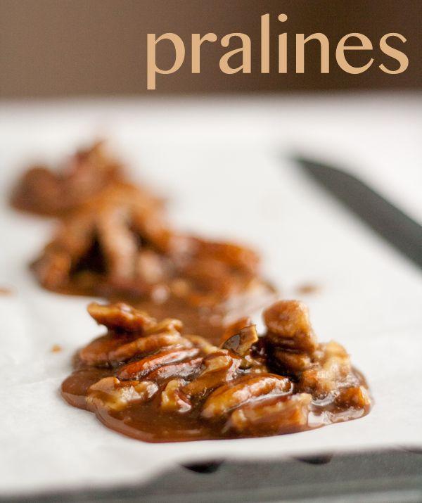 Pecan pralines from the Joy the Baker Cookbook