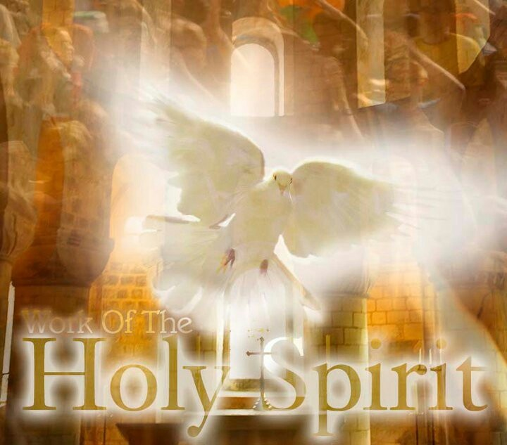holy spirit comes at pentecost