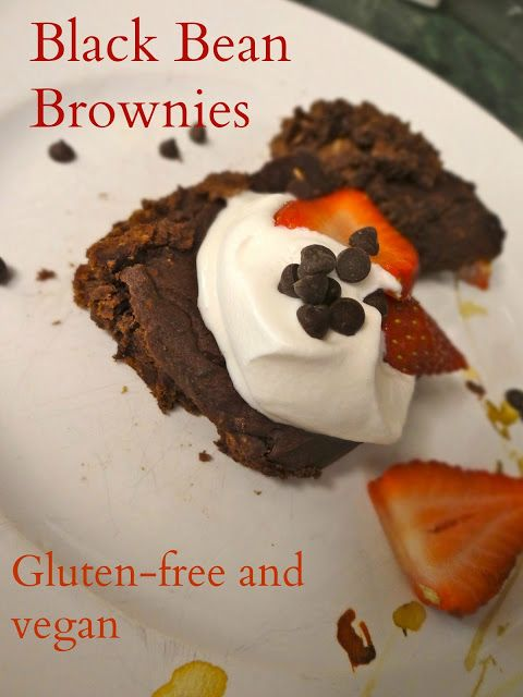 GF Black Bean Brownies