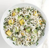 Basmati Rice Salad with Mango and Cucumber (without sesame oil)
