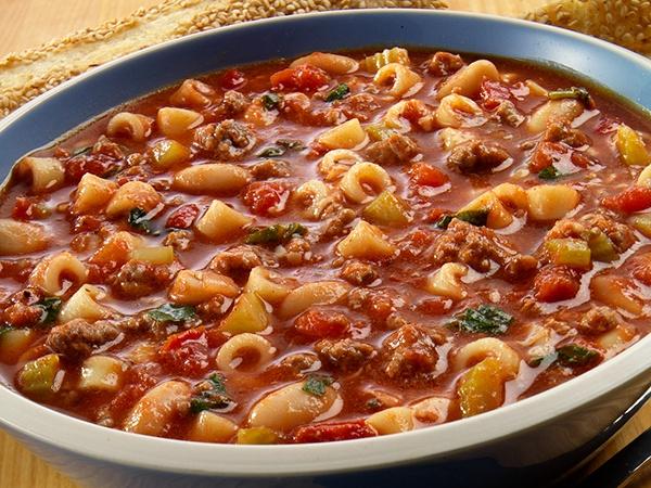Hearty Tortellini Pasta E Fagioli Recipe — Dishmaps