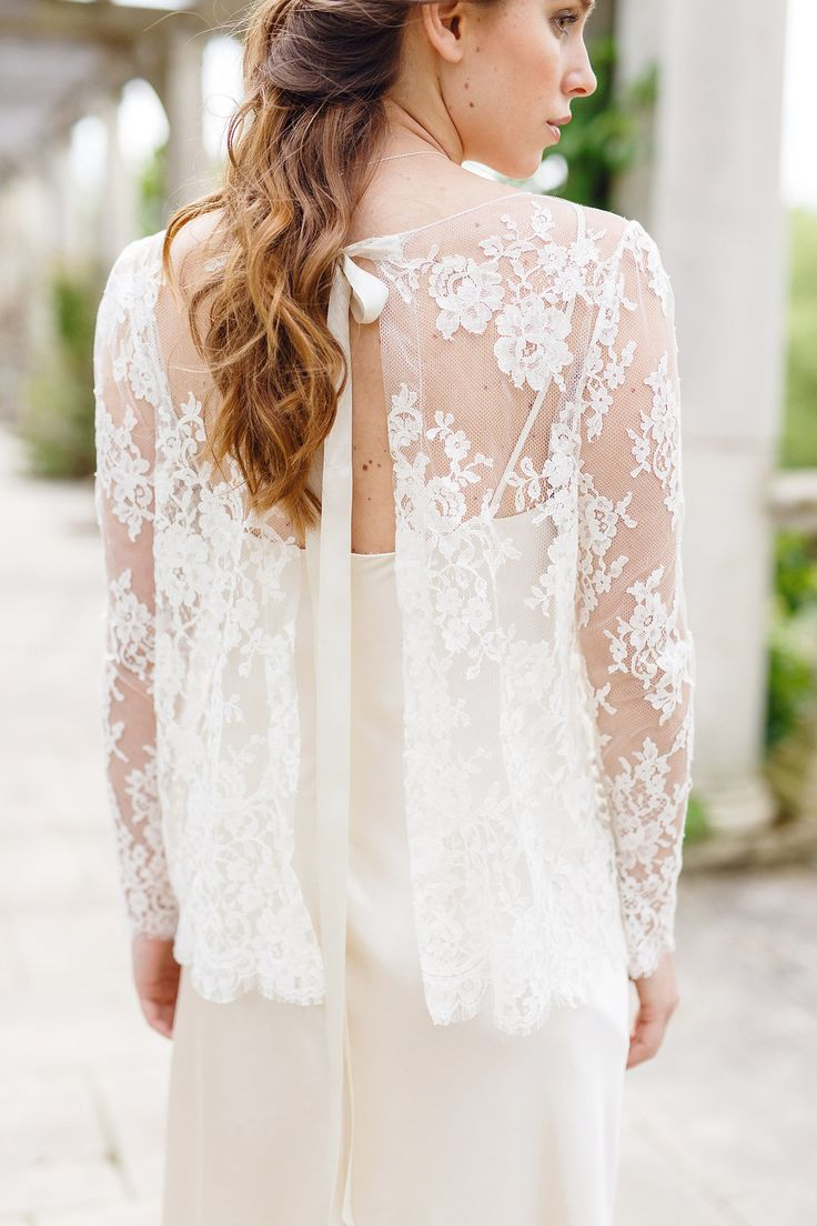 Lace wedding dress images