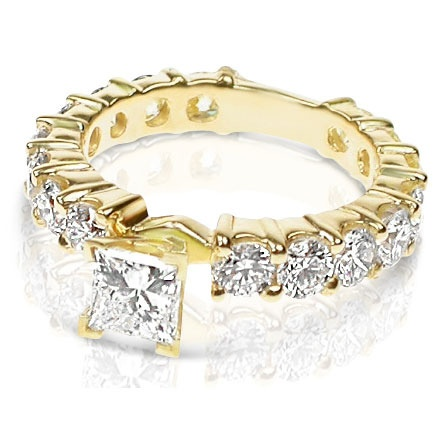 '2.75CT Genuine Diamond Pure 14K Yellow Gold ' is going up for auction at  9am Mon, Sep 17 with a starting bid of $2600.