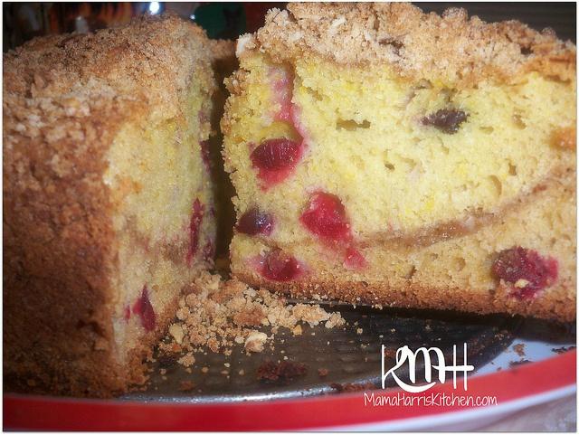 Cranberry Crumble Coffee Cake | Breakfast Foods - Mama Harris' Kitche ...