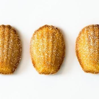 Vanilla Bean Madeleines | Food | Pinterest