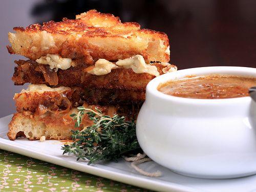 Vegan French Onion Soup Sandwich | Keepin It Kind Lunch Ideas | Pinte ...