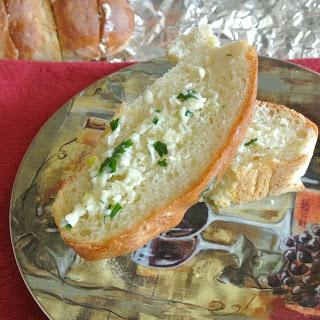 Gorgonzola Garlic Bread | Bread | Pinterest