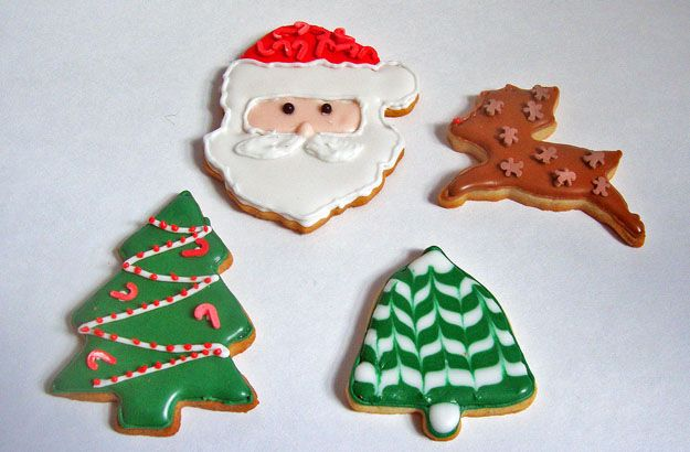Decorating Ideas For Christmas Tree Cookies : Christmas cookies time
