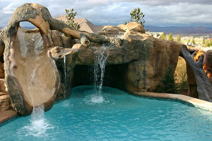 Awesome pool dream home pinterest for Custom swimming pools