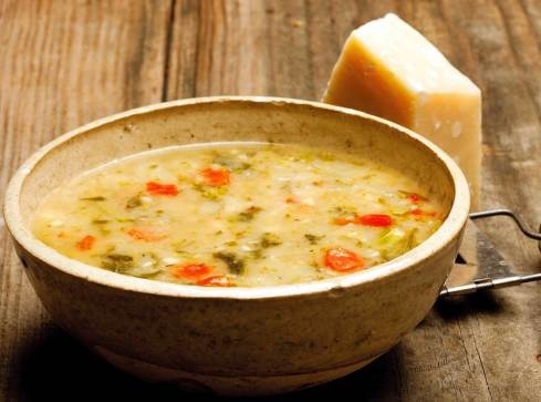 RECIPE: Tuscan White Bean Soup with Broccoli Rabe