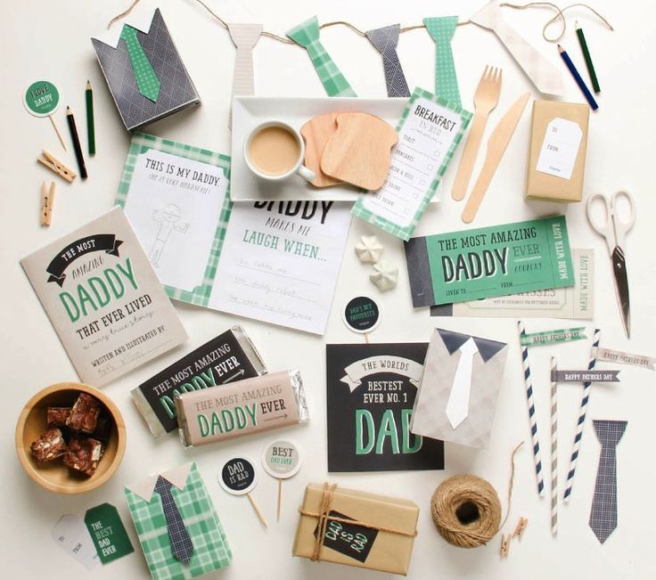 The most sophisticated, free Father's Day printables we've seen. So grateful for artists like tinyme who do this for us all.