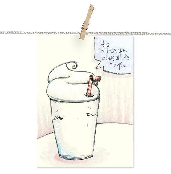 how to draw a milkshake step by step