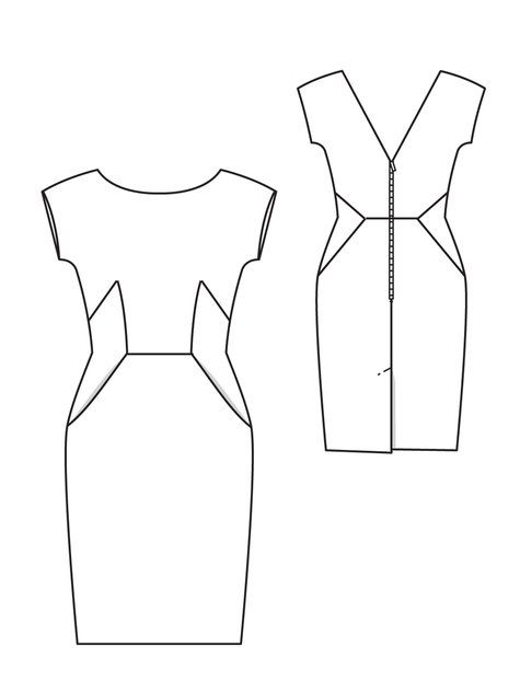 Matthew Williamson Dress pattern
