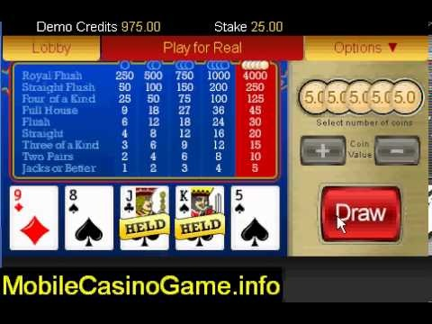 video poker jacks or better 24/7 youtube