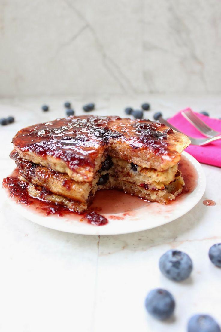 Blueberry Multi-Grain Yogurt Pancakes | recipes. to try. | Pinterest