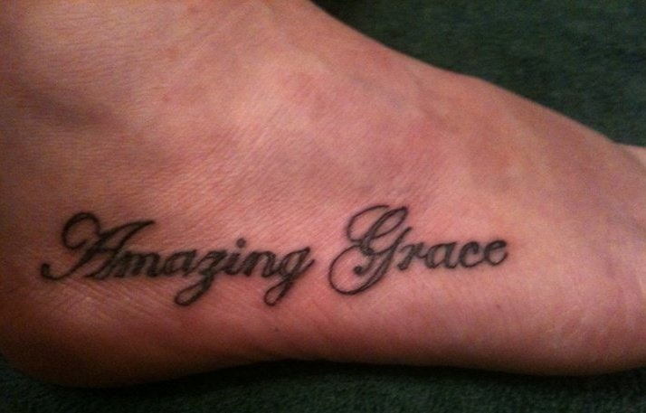 amazing grace tattoo the image kid has it