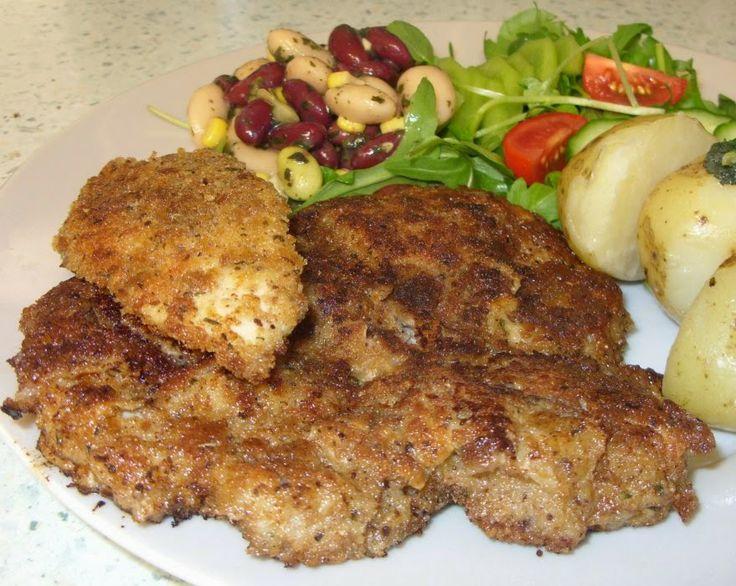 jenny eatwell s rhubarb amp ginger sumac amp thyme schnitzel bless you