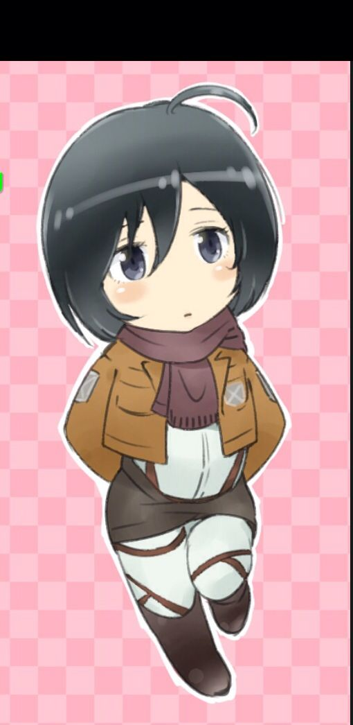 Super cute Mikasa Anime Pinterest