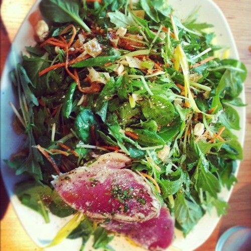Seared Ahi Asian Salad"