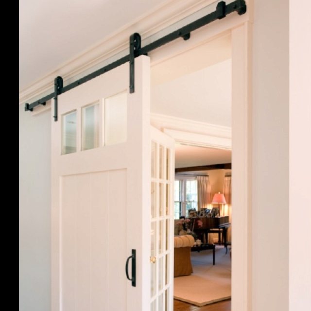 sliding farm doors for the home pinterest