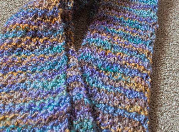 Crochet Stitches Moss Stitch : moss stitch scarf