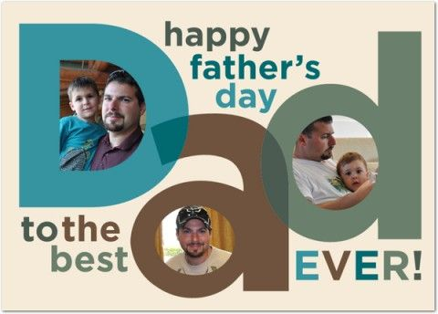 father's day card from daughter templates